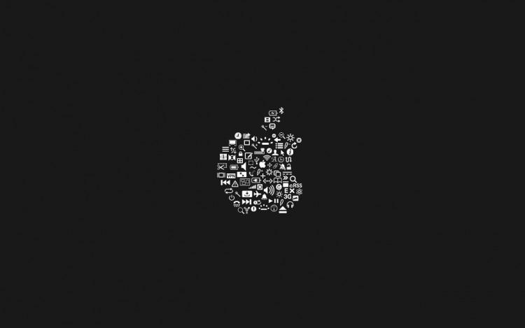 Fonds D Ecran Informatique Fonds D Ecran Apple Apple Icon