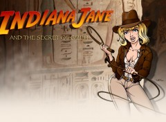 Wallpapers Digital Art Indiana Jane