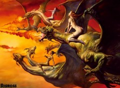 Fonds d'écran Fantasy et Science Fiction Dragons