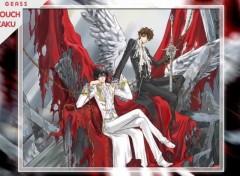 Fonds d'écran Manga Lelouch & Suzaku