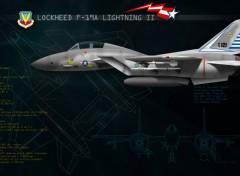 Fonds d'écran Avions Lightning II
