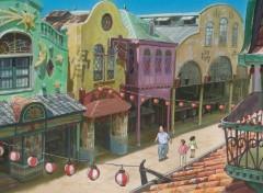 Fonds d'écran Dessins Animés Le voyage de Chihiro de Miyazaki