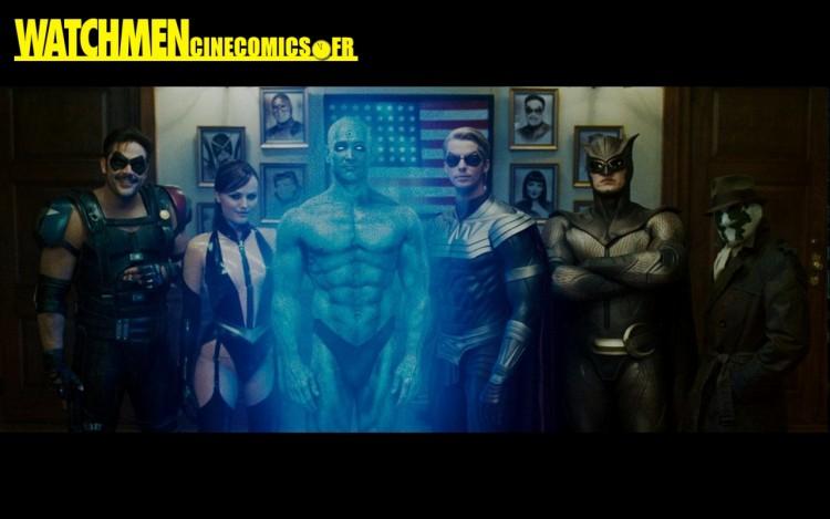 Fonds d'écran Cinéma Watchmen - Les Gardiens Watchmen les Gardiens, les super-héros Dc Comics en wallpapers et fond d'ecran cinecomics