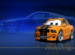 Fonds d'écran Dessins Animés Pixarized Mustang