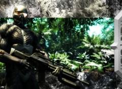 Fonds d'écran Jeux Vidéo Crysis Jungle