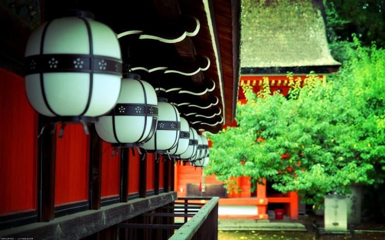 Fonds d'écran Voyages : Asie Japon Lanternes