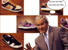 Wallpapers Humor Bush_Nike_1280-1024