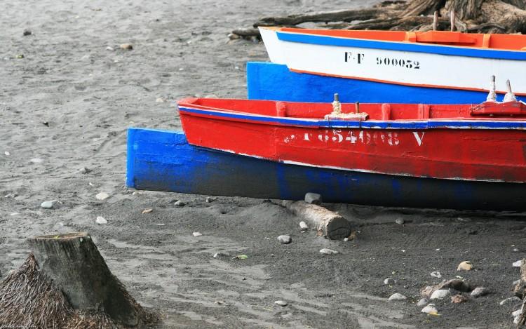 Fonds d'écran Bateaux Barques - Pirogues Barques de pêcheurs martiniquais