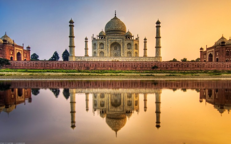 Wallpapers Constructions and architecture Castles - Palace Taj Mahal