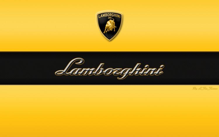 Fonds d'écran Voitures Lamborghini Logo Lamborghini