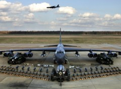 Wallpapers Planes B-52 Stratofortress and munitions