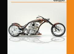 Fonds d'écran Motos Chopper 2009
