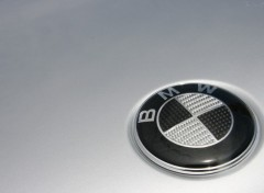 Wallpapers Cars Logo BMW Carbone
