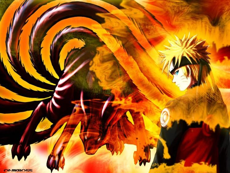 Fonds d'écran Manga Naruto naruto et kyubi