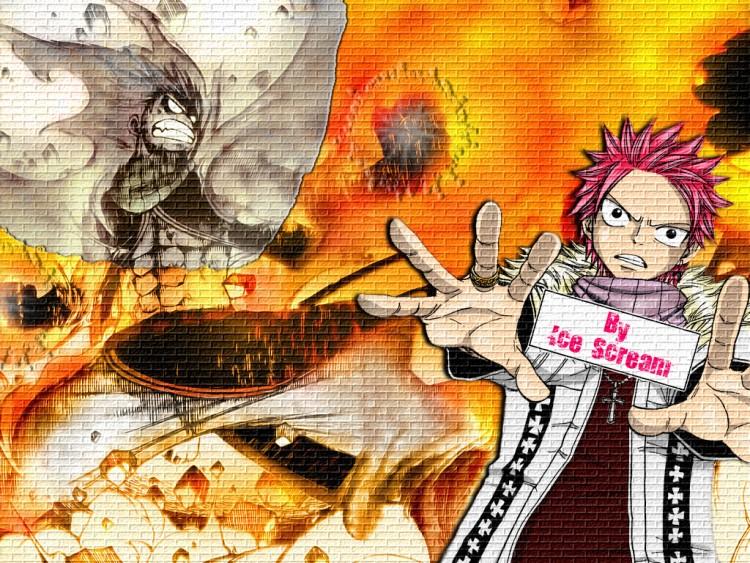 Fonds d'écran Manga Fairy Tail - Natsu fairy tail