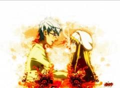 Fonds d'écran Manga love ninja