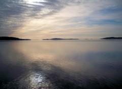 Fonds d'écran Nature vue sur les iles de Sept-Îles