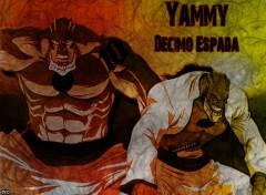 Fonds d'écran Manga Bleach - Yammy, Decimo Espada