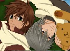 Fonds d'écran Manga let me be with you