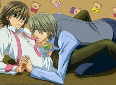 Fonds d'écran Manga kiss me