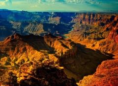 Fonds d'écran Nature Canyons dorés