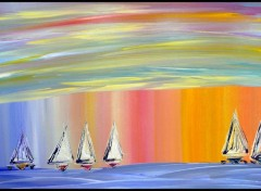 Wallpapers Art - Painting A Voile dans les Reves