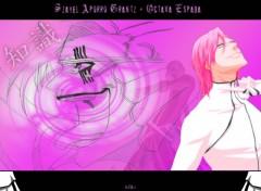 Fonds d'écran Manga Bleach - Szayel Aporro Grantz portrait version 2
