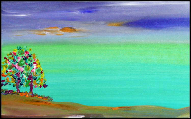 Fonds d'écran Art - Peinture Peintures Diverses Noel Sur Mars