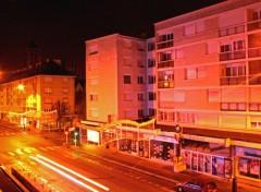 Fonds d'écran Voyages : Europe Caen into the night