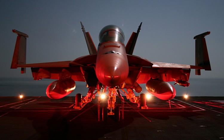Wallpapers Planes Military Aircraft F-18 Sur Porte Avion
