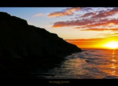 Fonds d'écran Nature Normady Sunset