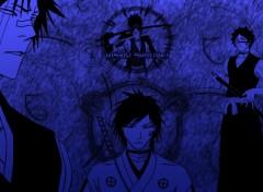 Fonds d'écran Manga Bleach - Hisagi Shuuhei (version1)
