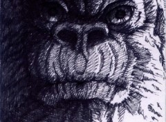 Fonds d'écran Art - Crayon kong