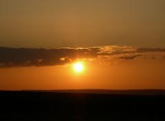 Fonds d'écran Nature Coucher de soleil - France