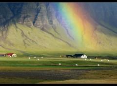 Fonds d'écran Nature Couleurs d'Islande