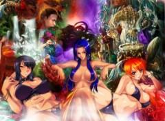 Fonds d'écran Manga Queens