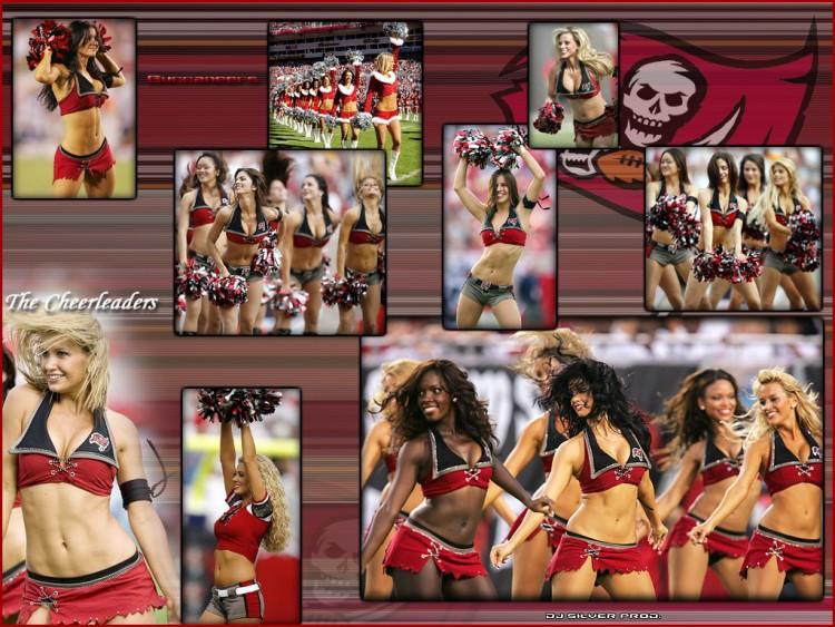 Fonds d'écran Sports - Loisirs Football Américain The Cheerleaders Tampa Bay Buccaneers