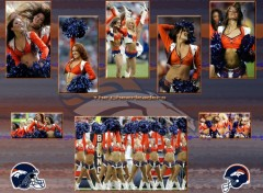 Fonds d'écran Sports - Loisirs The Cheerleaders Denver Broncos