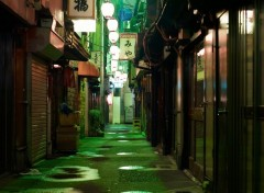 Wallpapers Trips : Asia Ruelle sous les lampions