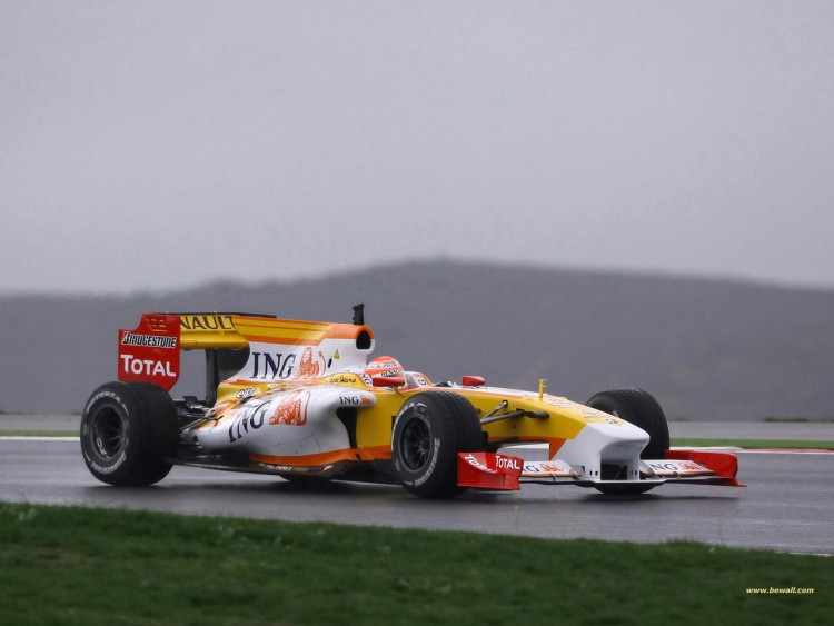 Wallpapers Sports - Leisures Formule 1 Renault F1