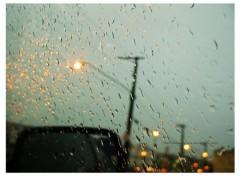 Fonds d'écran Nature Raining Car