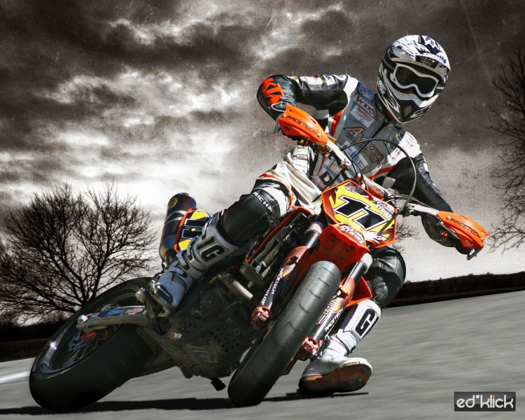 Fonds d'écran Motos Ktm Lionel Deridder #11 World championship S2