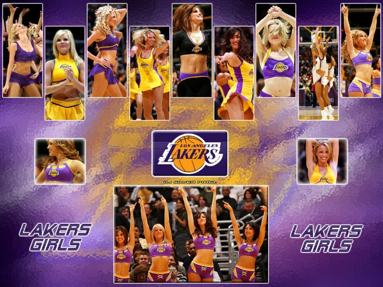 Wallpapers Sports - Leisures Basketball Laker Girls