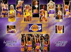 Wallpapers Sports - Leisures Laker Girls