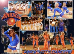 Wallpapers Sports - Leisures Knicks City dancers