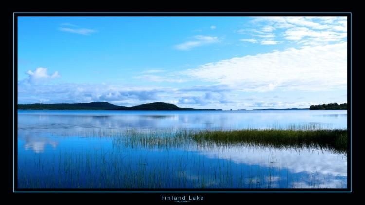 Wallpapers Nature Lakes - Ponds Finland Lake