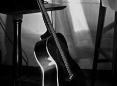 Fonds d'écran Musique La grate du bluesman