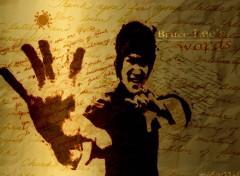 Fonds d'écran Célébrités Homme Bruce Lee's words