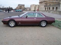 Fonds d'écran Voitures Ferrari 412