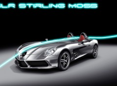 Wallpapers Cars SLR Stirling Moss
